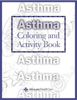 Asthma Coloring and Activity Book pdf
