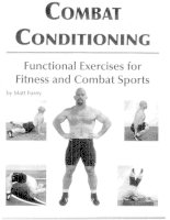 Combat Conditioning: Functional Exercises for Fitness and Combat Sports doc