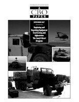 Replacing and Repairing Equipment Used in Iraq and Afghanistan: The Army's Reset Program ppt