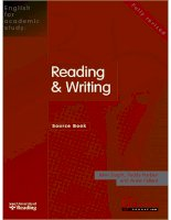 English For Academic Study Reading And Writing