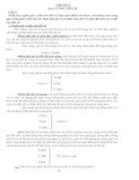 Câu hỏi và đáp án ôn tập Tài chính-Tiền tệ doc