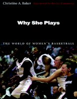 Why She Plays The World of Women's Basketball pdf