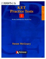 ket practice tests 1 student''s book
