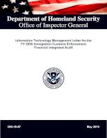 Department of Homeland Security Office of Inspector General pot