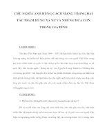 CHỦ NGHĨA ANH HÙNG CÁCH MẠNG TRONG HAI TÁC PHẨM RỪNG XÀ NU VÀ NHỮNG ĐỨA CON TRONG GIA ĐÌNH pptx