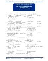 Bốn loại câu hỏi điều kiện và chữa câu hỏi trong đề thi (bài tập tự luyện) doc