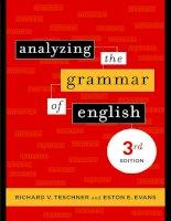 lang arts analyzing the grammar of english