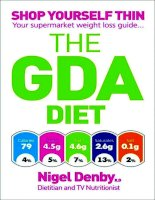 THE GDA DIET Nigel DenbyRD Dietitian and TV Nutritionist docx