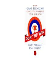 For the win - how game thinking can revolutionize your business