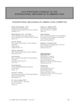 2013 PROPOSED CHANGES TO THE INTERNATIONAL MECHANICAL/PLUMBING CODE potx