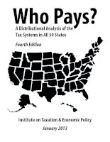 Who Pays? A Distributional Analysis of the Tax Systems in All 50 States docx