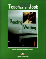 Reading and writing teacher books ppt