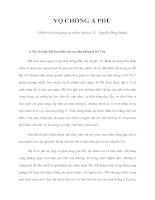 VỢ CHỒNG A PHỦ ( Phân tích bình giảng tác phẩm văn học 12 - Nguyễn Đăng Mạnh) potx
