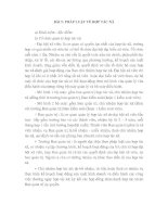 LUẬT DOANH NGHIỆP - BÀI 5: PHÁP LUẬT VỀ HỢP TÁC XÃ ppt