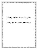 Đồng bộ Bookmarks giữa máy tính và smartphone pot