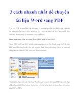 3 cách nhanh nhất để chuyển tài liệu Word sang PDF ppt