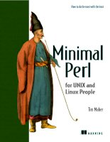 minimal perl for unix and linux people - manning 2006