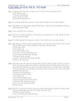 Giáo trình bài tập Xác Suất - Thống Kê ThS. Lê Hoàng Tuấn pdf