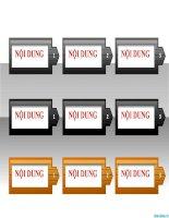 văn bản hình mũi tên các bước thực hiện công việc, arrow text boxes in powerpoint