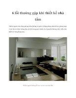 6 lỗi thường gặp khi thiết kế nhà tắm docx