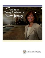 Guide to Doing Business in New Jersey pot
