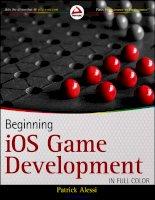 Beginning iOS Game Development pptx
