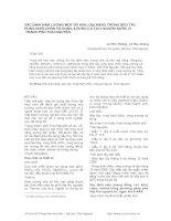 XÁC ĐỊNH HÀM LƯỢNG MỘT SỐ KIM LOẠI NẶNG TRONG BÈO TÂY, RONG ĐUÔI CHỒN VÀ RONG XƢƠNG CÁ TẠI 3 NGUỒN NƢỚC Ở THÀNH PHỐ THÁI NGUYÊN pdf