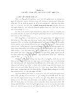 Phần 2: Chương 3: Chi tiết, tình tiết, truyện và cốt truyện potx