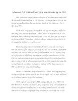 Advanced PDF Utilities Free: Xử lý toàn diện các tập tin PDF potx