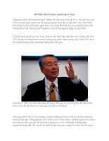 Ba bước chuyển giao quyền lực ở Acer pot