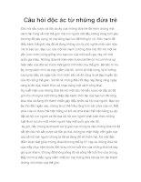 Câu hỏi độc ác từ những đứa trẻ pdf