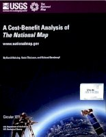 a cost benefit analysis of the national map potx