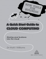 A Quick Start Guide to Cloud Computing ppt