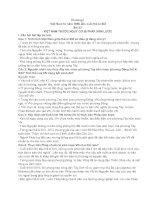 Hướng dẫn trả lời câu hỏi và bài tập lịch sử 11   bài 33