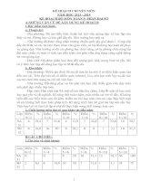 kế hoạch tổ chuyên môn năm học 2014 trường thcs