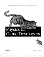 o'reilly - physics for game developers