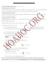 phương pháp viết đồng phân amin