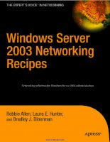 Windows Server 2003 Networking Recipes: A Problem-Solution Approach pot