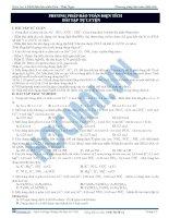 Bài 16. Bài tập Phương pháp bảo toàn điện tích