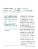 Understanding Corporate Bond Spreads Using Credit Default Swaps potx