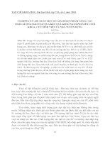 NGHIÊN CỨU, ĐỀ XUẤT MỘT SỐ GIẢI PHÁP NHẰM NÂNG CAO CHẤT LƯỢNG ĐÀO TẠO QUA KẾT QUẢ KHẢO SÁT SINH VIÊN CUỐI KHÓA, CỰU SINH VIÊN VÀ NHÀ TUYỂN DỤNG pptx