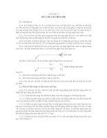 Chương 2. Kết cấu các môn hàn pot