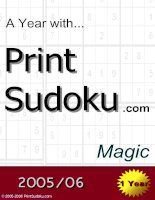 trò chơi ô số A year with Print Sudoku magic doc