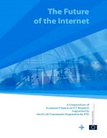 The Future of the Internet: A Compendium of European Projects on ICT Research Supported by the EU 7th Framework Programme for RTD ppt