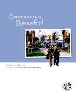 Communities Benefit! The Social and Economic Benefits of Transportation Enhancements pot