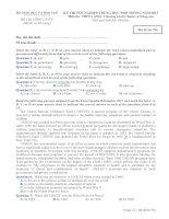 Đề thi - Đáp án môn Tiếng Anh - Tốt nghiệp THPT Chương trình Chuẩn và Nâng cao ( 2013 ) Mã đề 796 docx