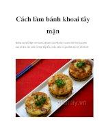 Cách làm bánh khoai tây mặn potx
