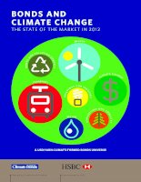 BONDS AND CLIMATE CHANGE THE STATE OF THE MARKET IN 2012 pdf