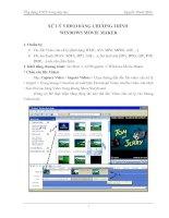 xu ly video bang windows movie maker