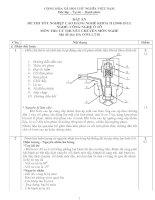 đáp án đề thi lý thuyết khóa 2 - công nghệ ôtô - mã đề thi oto - lt (10)